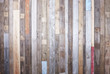 Modern rustic wall. - 81880429