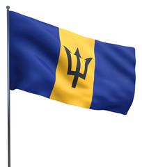 Barbados Flag Image