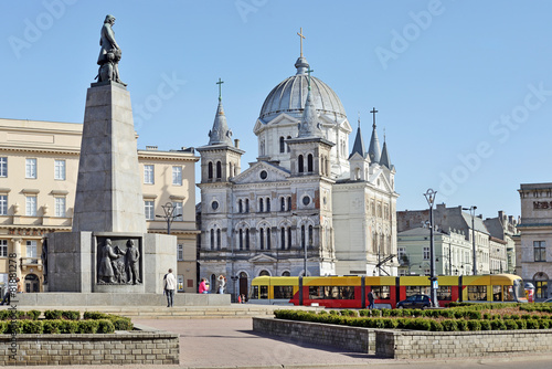 Fototapety, obrazy : Plac Wolności, Łódź