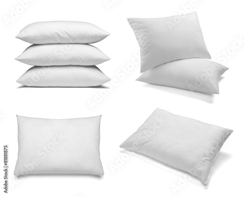 white pillow bedding sleep - 81881875
