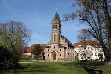 Eine katholische Kirche