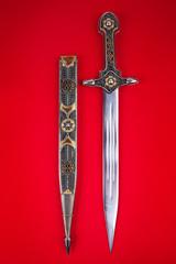Vintage steel blade