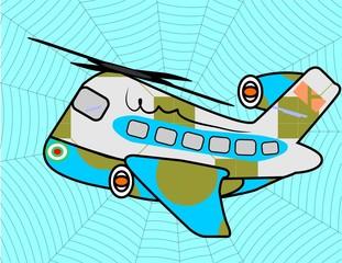 spider plane