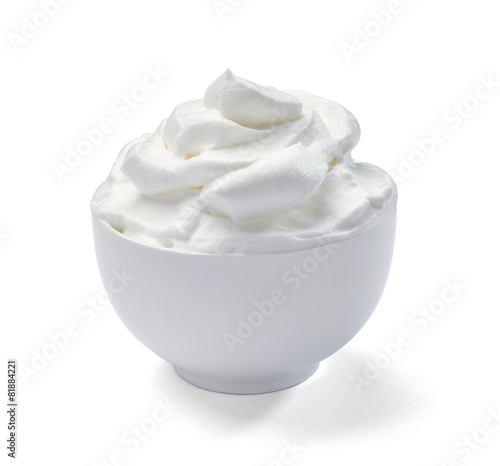 In de dag Zuivelproducten sour whipped cream