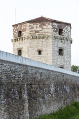 The medieval stone tower