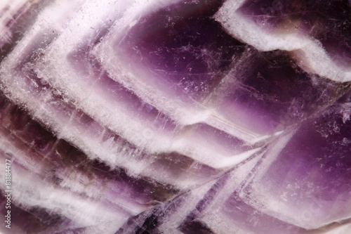 Deurstickers Edelsteen amethyst background