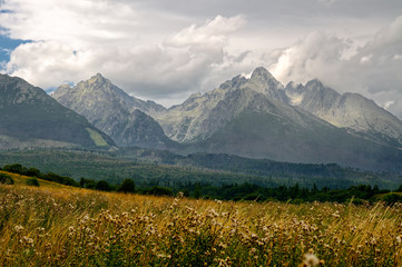 High Tatra Mountains in Slovakia