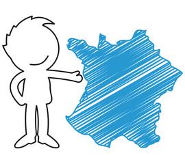 Short People Scribble - France