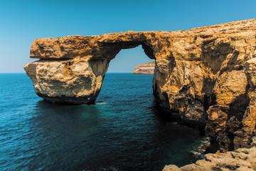 Gozo Azure Window Height Malta