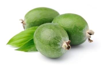 Sweet feijoa fruits