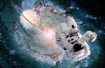 Astronaut Spaceman Black Hole
