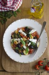 Greek style gnocchi