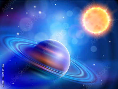 Magic Space - planets, stars and constellations