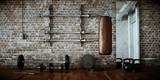 Fototapety Fitnessraum