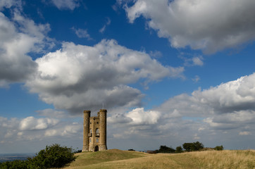 Clouds over Broadway Tower