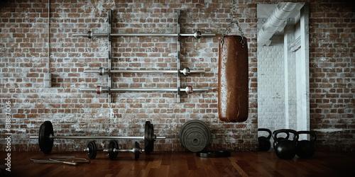 Fitnessraum - 81887006