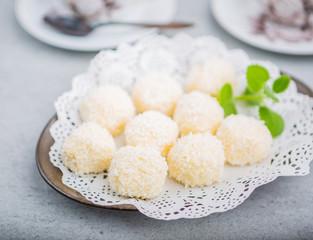 Homemade Coconut Pralines