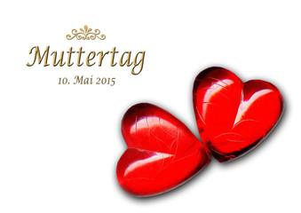 10. Mai 2015 / Muttertag / 2 Herzen