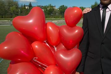 Herzluftballons