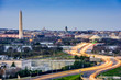 Washington, DC Cityscape with Monuments - 81890663