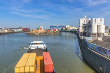 Hafenbecken Ostend Frankfurt