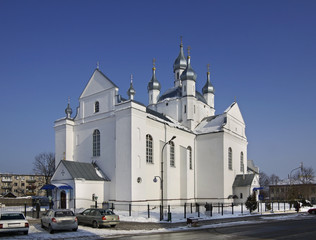 Transfiguration Cathedral in Slonim. Belarus