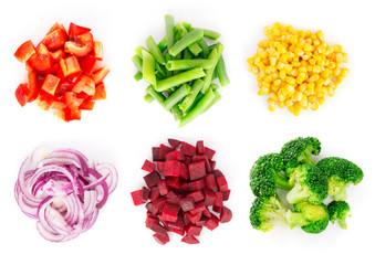 Vegetables set 4