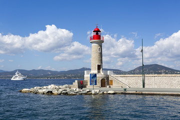 Lighthouse of St. Tropez