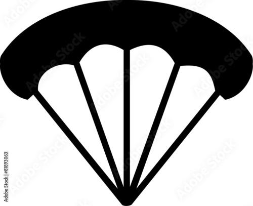 Fototapeta Parachute Icon