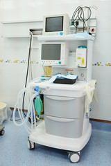The image of a dental anesthesiology machine