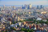 Tokyo cityscape with Toshima and Shinjuku districts