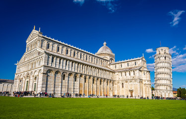 View of the Cathedral of Pisa - Italy