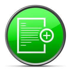 White Document icon