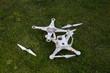 Damaged drone - 81898896