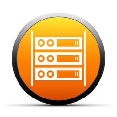 White Network Server icon