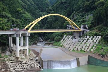 奈良県川上村 高原道俊橋