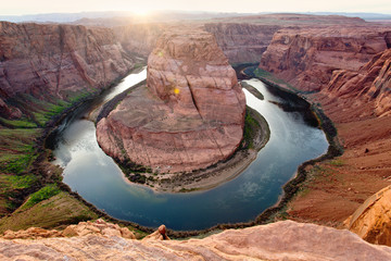 Horseshoe Bend in Page, Northern Arizona, AZ, USA
