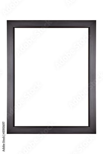 Leinwanddruck Bild Black Picture Frame