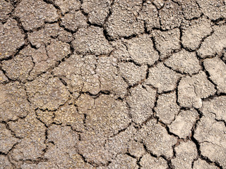 close-up cracked dried earth background