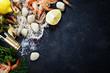 Fresh seafood - 81903076