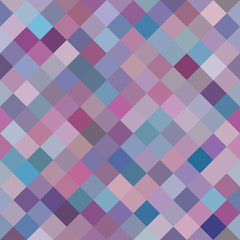 Geometric Background, Random Purple Diamonds. Seamless pattern