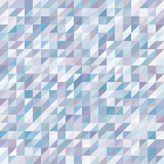 Geometric Background, Blue and Purple Triangles