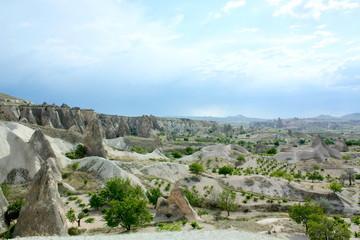 カッパドキアの頂上からの風景