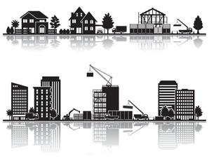 様々な都市 / 建設