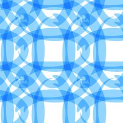 Blue ellipses transparency