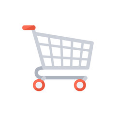 Grocery shopping cart.