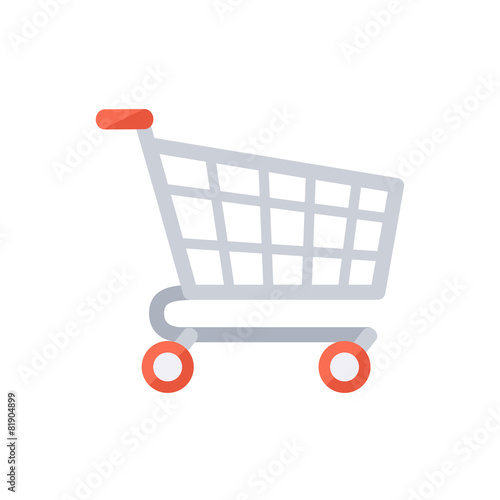 Grocery shopping cart. - 81904899