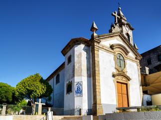 The Church of Santa Marinha in the Vila Nova de Gaia in Porto on