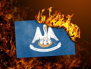 Flag burning - Louisiana