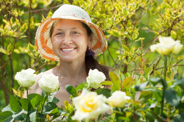 Mature female  florists